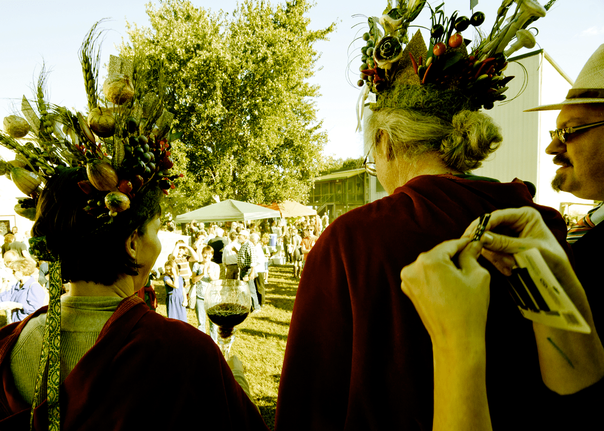 PepperFest crowning.