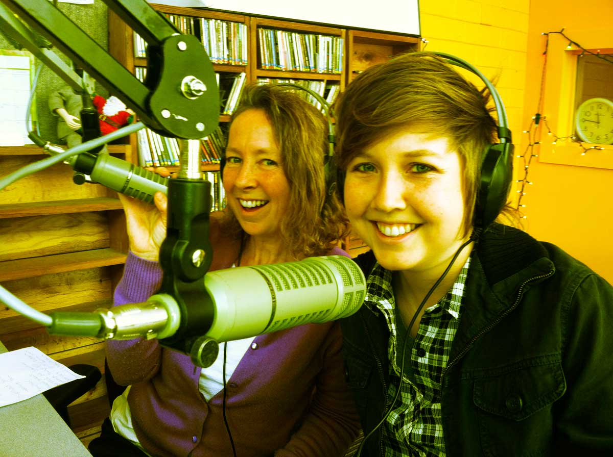 Tami and Jenny on air!