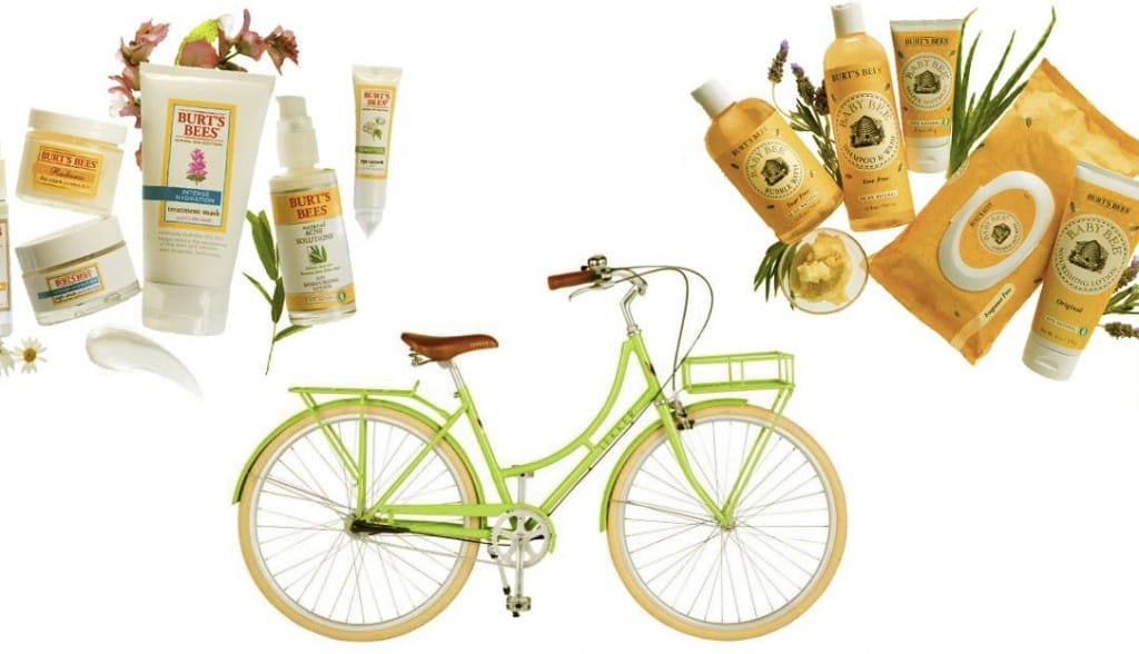 PepperFest giveaways:  Lekker bike & Burt's Bees prize packs