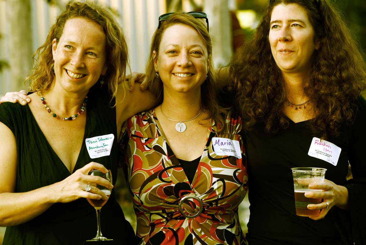 Tami, Maria, Rebekah; 3 women of sustainability.