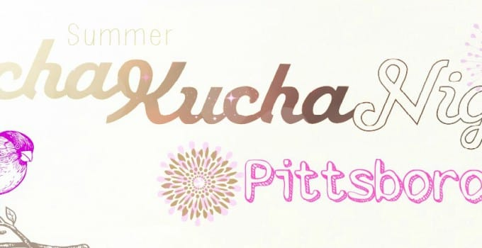 Summer Pecha Kucha Night 2015