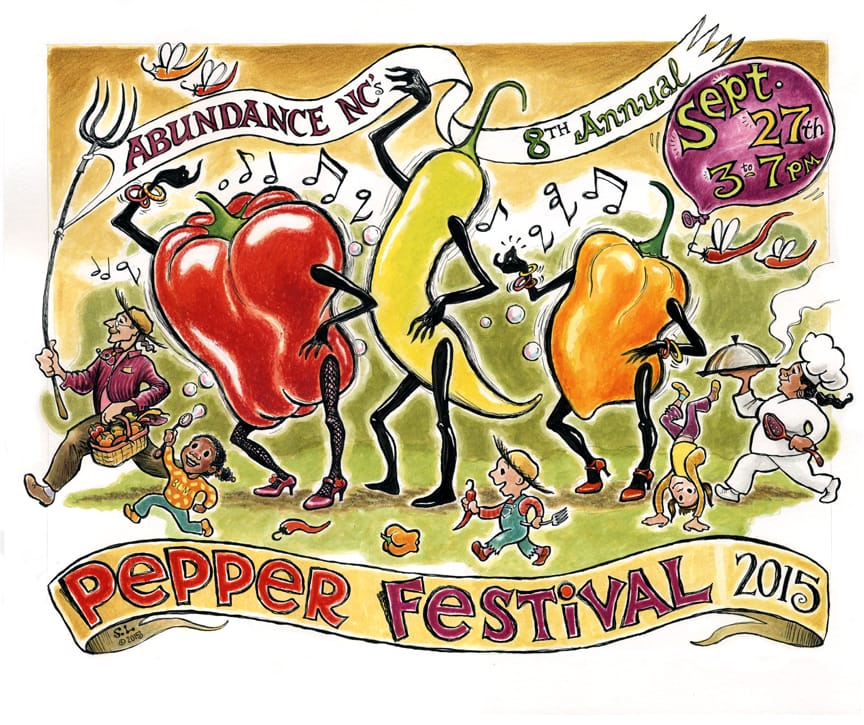 The 8th Annual Amazing Pepper Festival