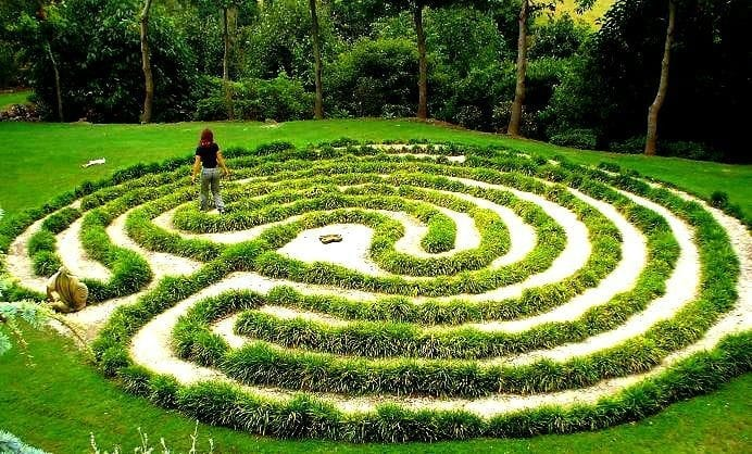 Labyrinth Making & Meditation
