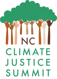 NC Climate Justice Summit - Logo (White_Transparent)