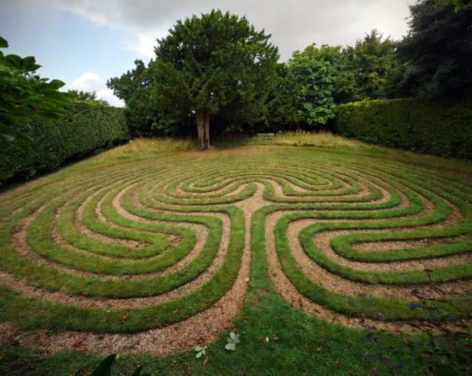 Labyrinth Building Workshop