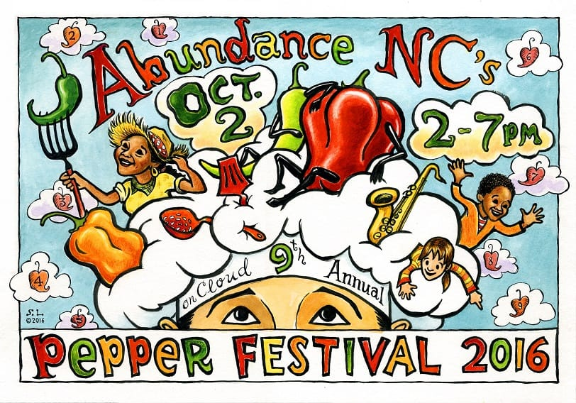 The 9th Annual Amazing Pepper Festival