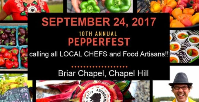 Pepperfest – 10th Annual! Call for Chefs, Food Artisans and Volunteers!