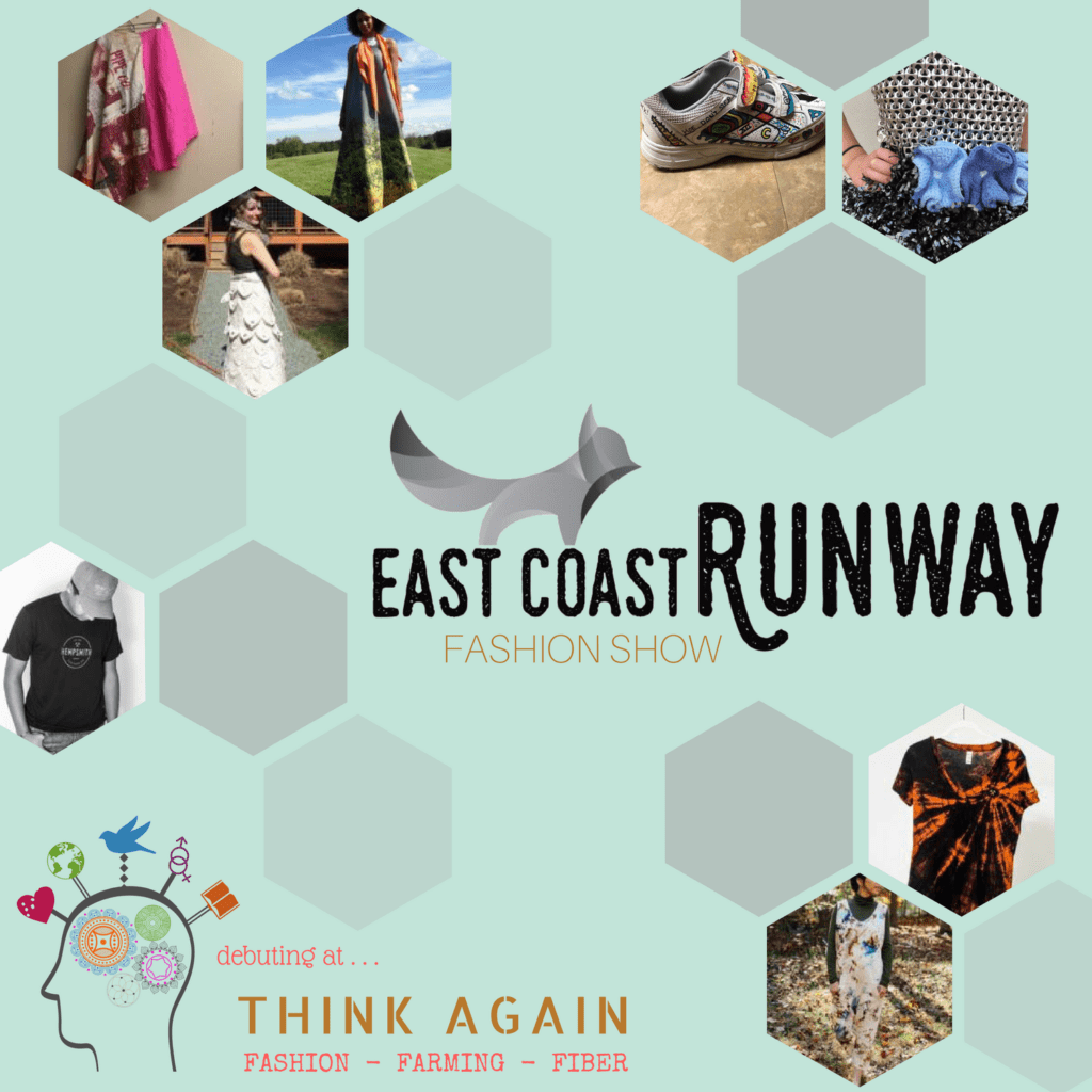 Sustainable Fashion Show with East Coast Runway at Think Again:F3