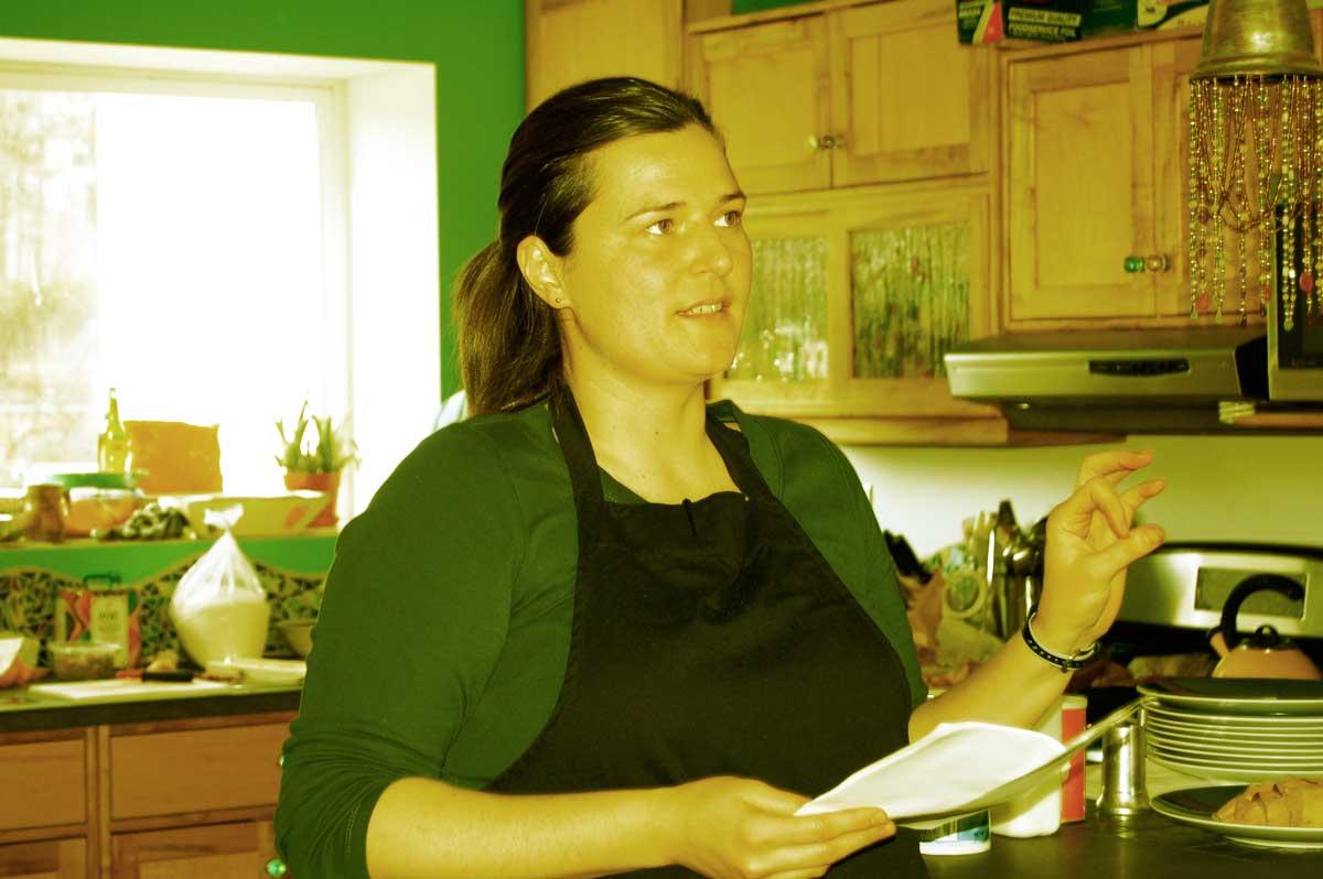 April McGreger IS the sweet potato Queen.
