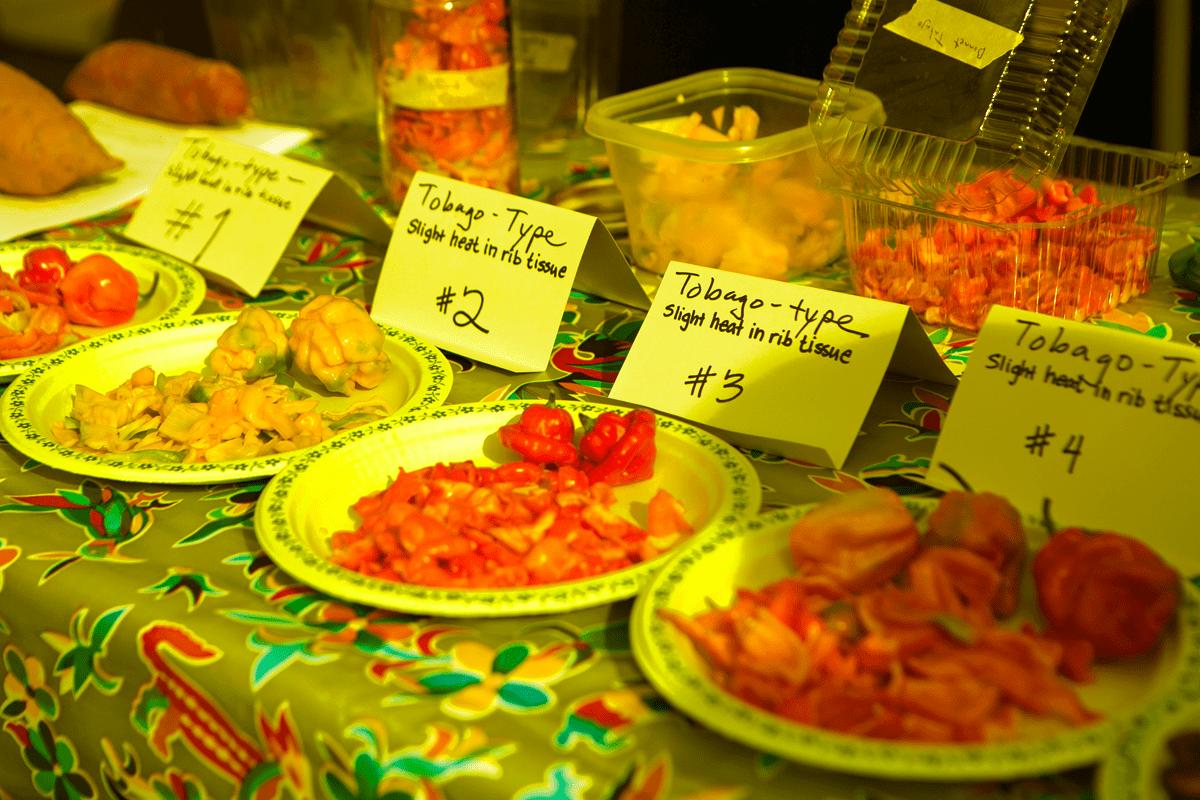 pepper-tasting