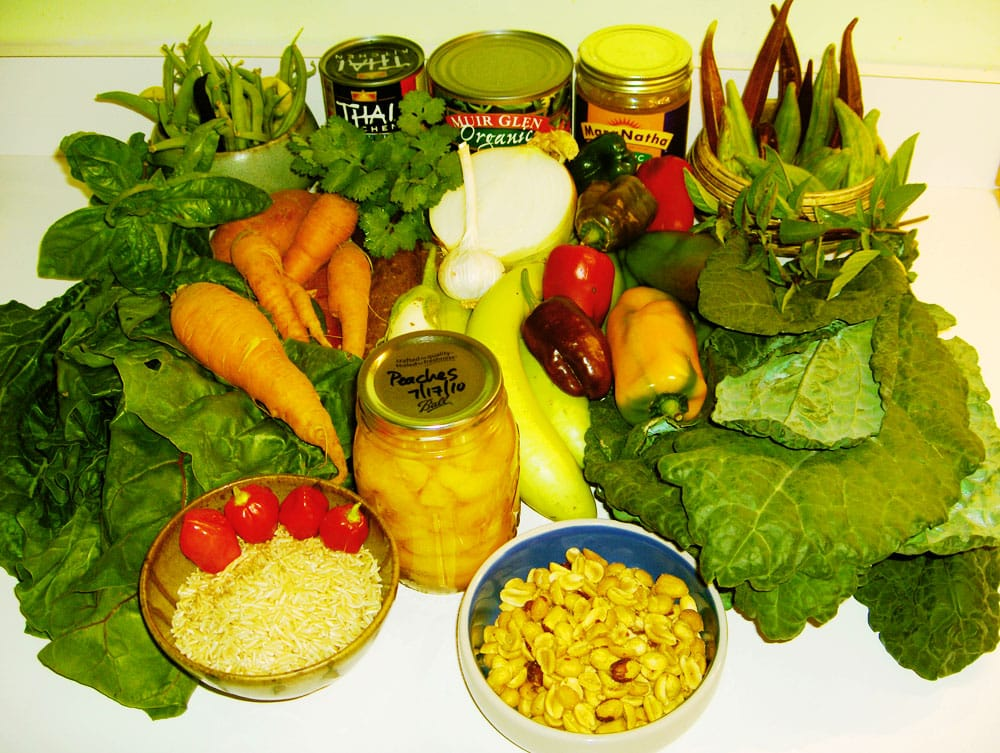 The raw ingredients for a killer curry.