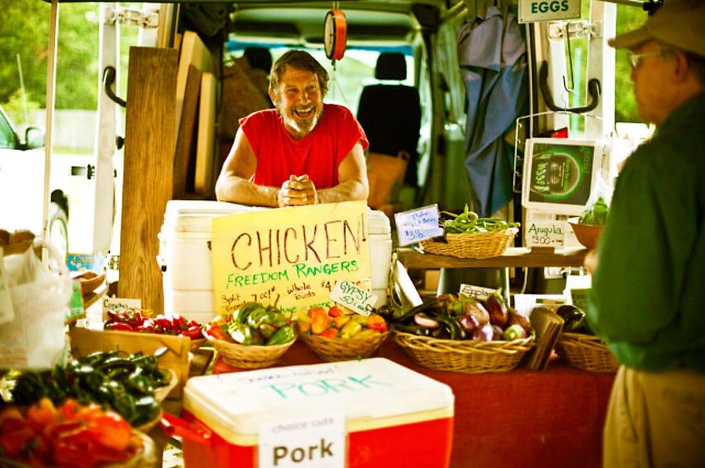 Perry-winkle farm participates in the POP Market program.