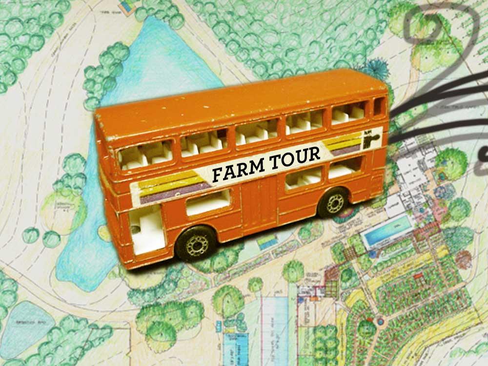 Hop on the bus!  Few spots left for innovative farm tour