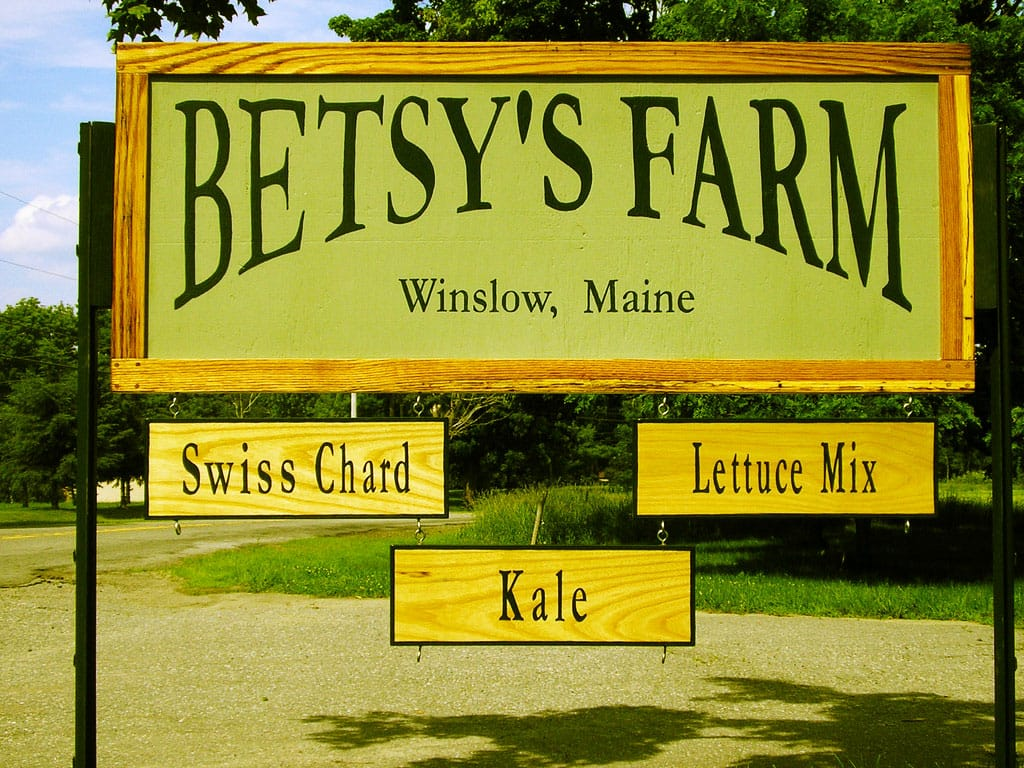 Knisley ran a farm in Maine before moving to Western North Carolina.
