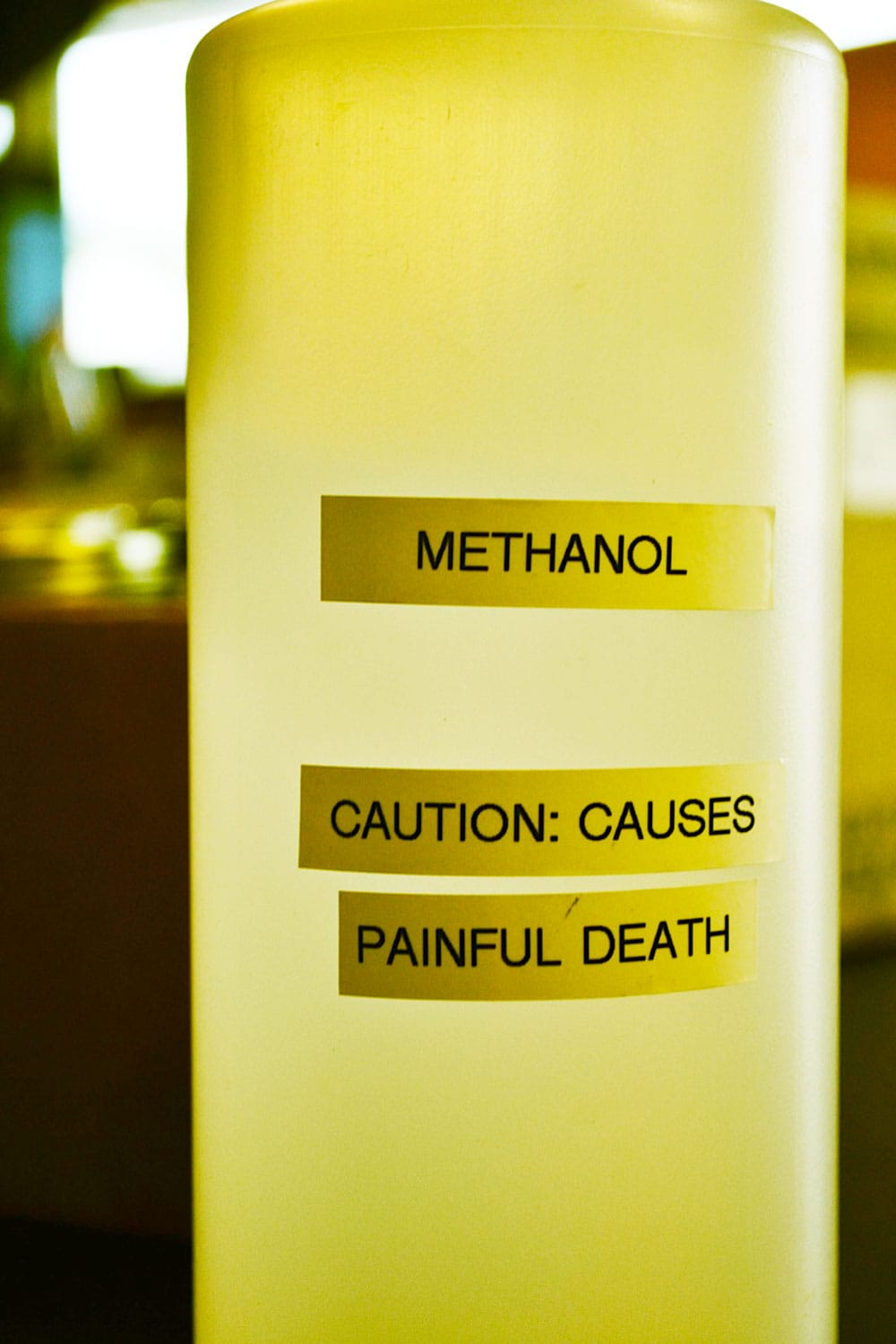 Methanol, an ingredient in biofuels production.