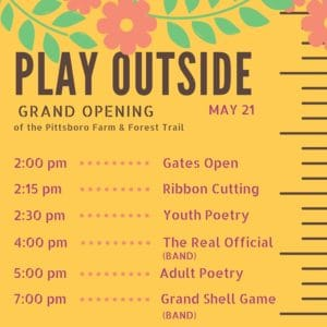 play outside Schedule
