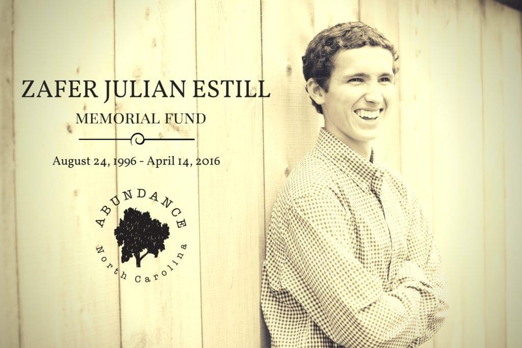 Zafer Julian Estill Memorial Fund
