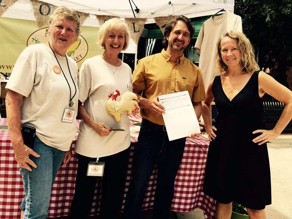 Double Goodness: How Local and Federal Dollars Partner to Benefit the Apex Farmer's Market