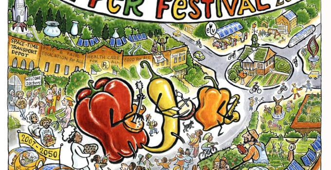 Pittsboro in 30 Years – A Blog by Pepperfest Poster Artist, Stayce Leanza